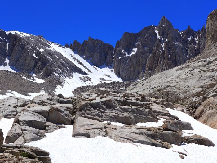Mount Whitney - Trail Crest - Whitney Portal